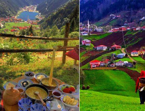 Bayram Tatilinde Gezilecek Yerler (Trabzon-Rize)