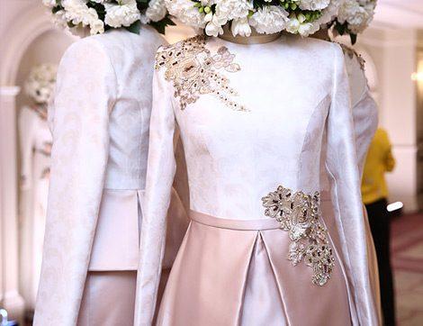 2016 Yazının En Güzel 40 Tesettür Abiye Elbise Modeli