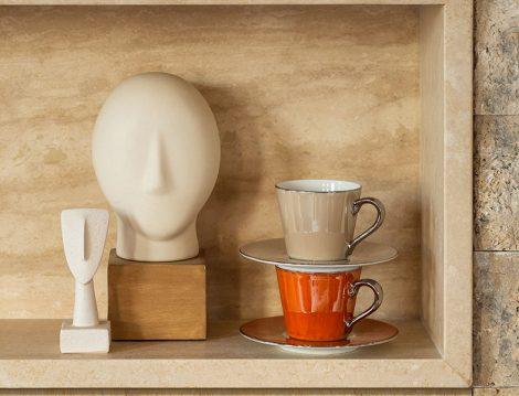 Jumbo Luster Kahve Fincanı