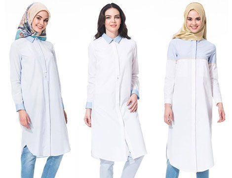 Klasik Beyaz Gömlekler Form Değiştiriyor