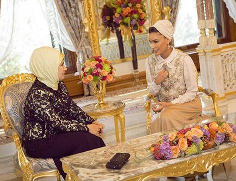 Müslüman Ülkelerin Stil Sahibi First Lady'leri