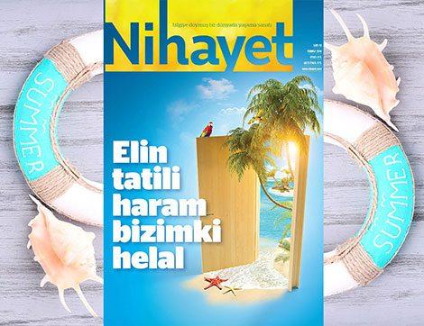 Nihayet Dergisinin Temmuz Sayısı Bayilerde