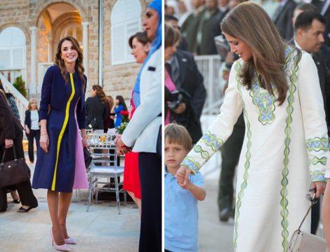 Rania el Abdullah Giyim Stili