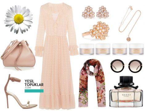Tesettür Etek ve Elbise Kombinleri Parizyen Stil