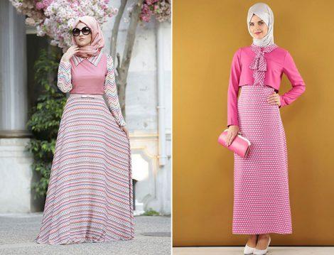 Tesettür Giyim Elbise Modelleri (Dilek Etiz - Kayra)