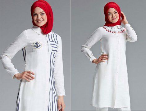 Tuğba Venn 2016 Beyaz Gömlek Modelleri