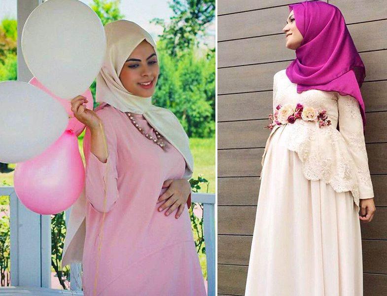 b84c22258a92d Özel Tasarım Hamile Kıyafetleri | Resimlerle Tesettür Giyim ...