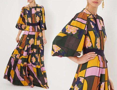 İndirimdeki 10 Yazlık Uzun Elbise Modeli