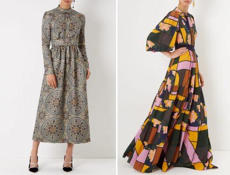 2017 Tesettür Elbise Modeli
