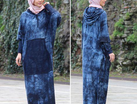 Batik Desenli Tesettür Giyim