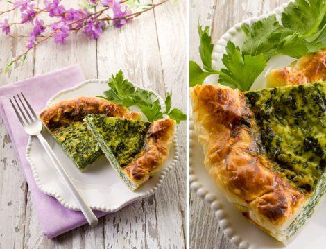 Ispanaklı Peynirli Tart tarifi - Çay Saati Tarifleri