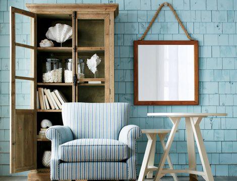 Mavi - Beyaz Ev Dekorasyon Önerileri