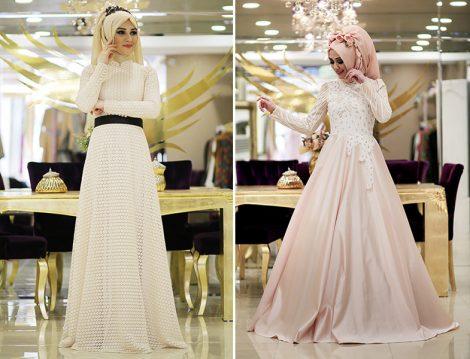 Minel Aşk Abiye Elbise Modelleri