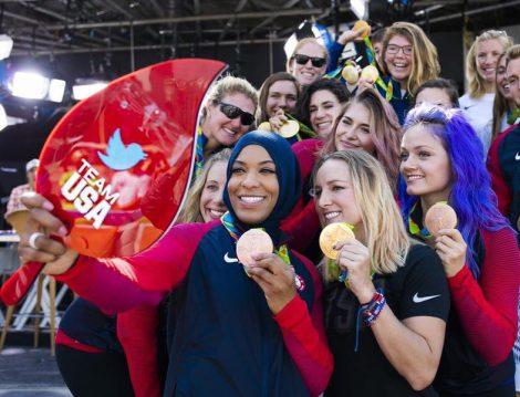 Olimpiyatların İlk Amerikalı Başörtülü Sporcusu İbtihaj Muhammad