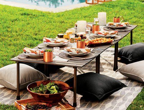 Piknik Sofralarına Fonksiyonel ve Benzersiz Öneriler