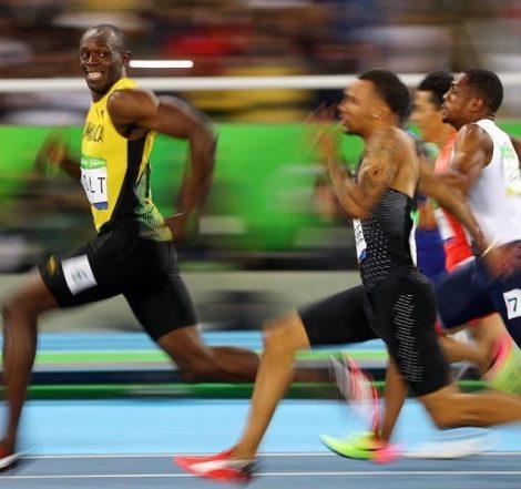 Usain Bolt'un Hayatının Pozu