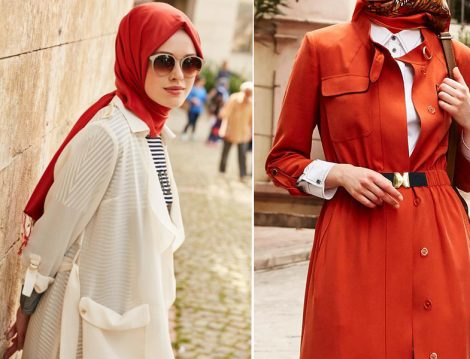 Kayra Kırmızı-Beyaz Giyim Modelleri
