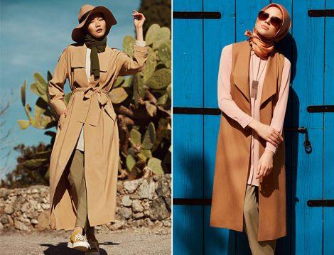 Tuğba Venn Toprak Tonlarında Giyim Modelleri