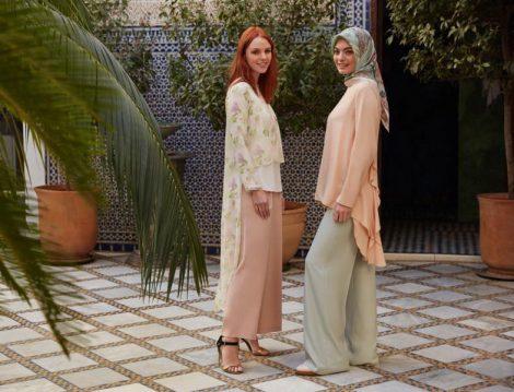 Kayra Pudra-Mavi Giyim Modelleri