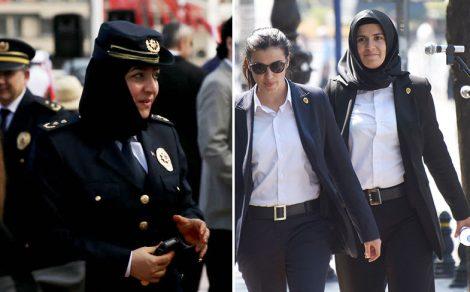 Türkiye'nin İlk Başörtülü Kadın Polisleri