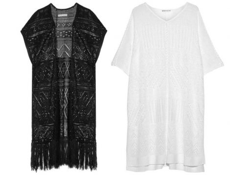 Yazlık Örgüler ve Batik Desenli Elbiseler