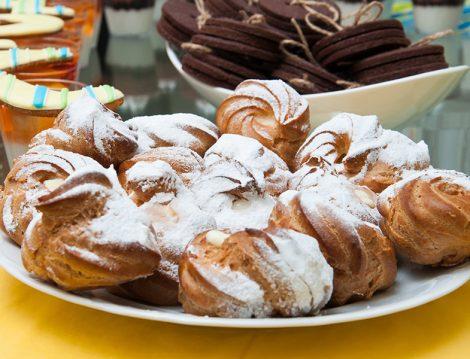 Şu Hamurundan Mini Pastalar