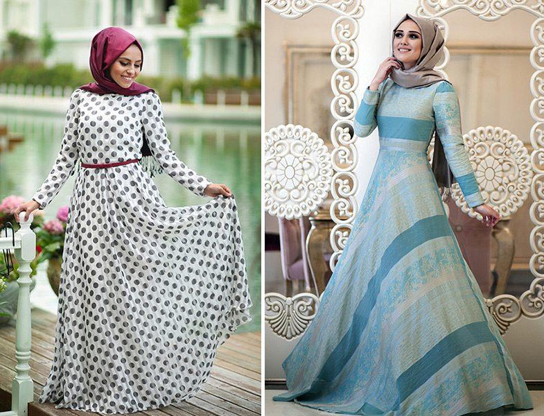Minel Aşk Çizgili ve Puantiyeli Elbise Modelleri