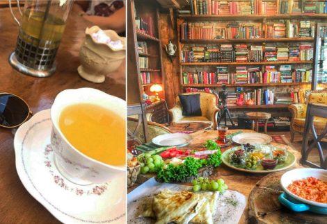 Antikacı D Müzelik Cafe Çengelköy, Çengelköy kafeleri, antika eşyalarükkanı Gibi Bir Cafe Müzelik