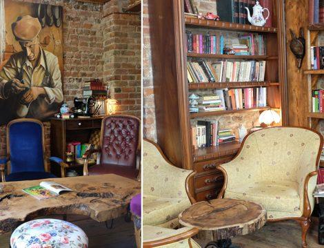 Antikacı Dükkanı Gibi Bir Cafe Müzelik