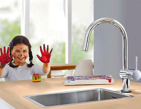 Çocuklu Ailelere Rahatlık Sağlayacak Banyo ve Mutfak Tasarımları