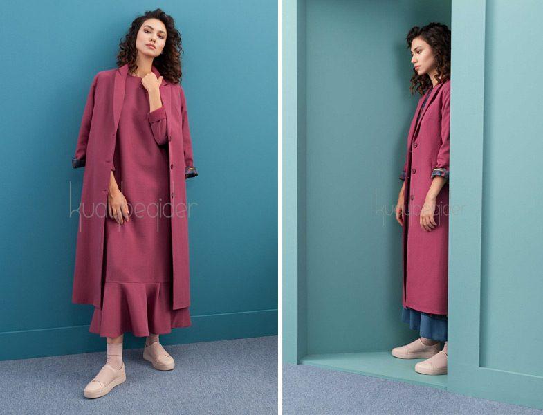 b8fa403017ce0 Kuaybe Gider 2016-2017 Sonbahar Kış Palto ve Elbise Modelleri ...