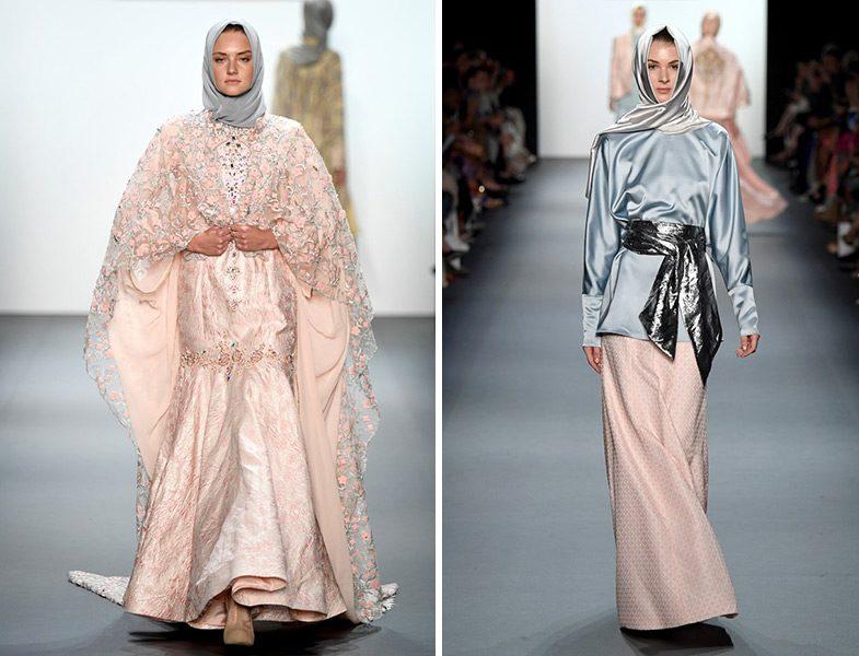 New York Moda Haftasına Damga Vuran Tesettür Defilesi