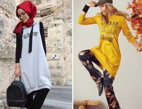 Spor Tesettür Giyim Modelleri 2016