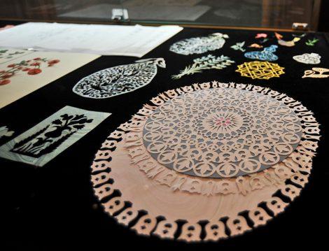 Türk Süsleme Sanatlarından Kurretu'l-'Ayn Katı Sergisi