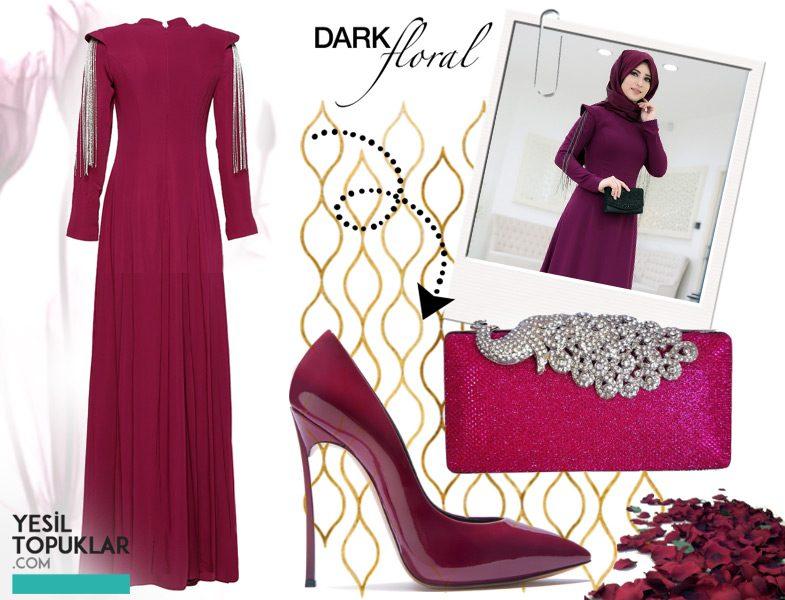 7627b4a3dab62 Tesettür Abiye Elbise Modelleri 2016-2017 | Resimlerle Tesettür ...