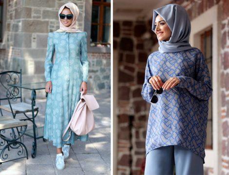 Tesettür Giyim Modelleri 2016-2017