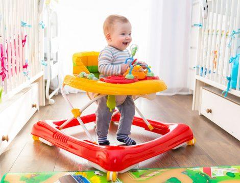 Yürüteç Bebeğin Yürüme Kabiliyetini Köreltiyor