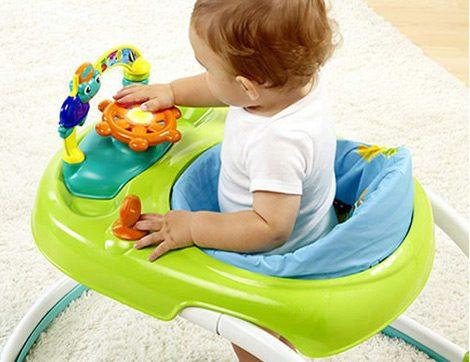 Yürüteç Bebeğin Yürüme Kabiliyetini Köreltiyor!