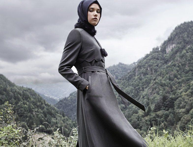 Zühre Pardesü 2016-2017 Tesettür Palto Modelleri