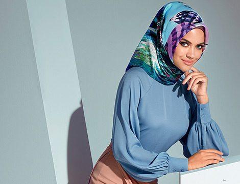Armine Giyim Sonbahar Kış Tesettür Bluz ve Gömlek Modelleri