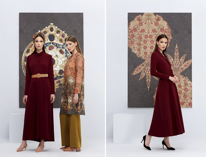 Mimya Tesettür Elbise ve Kap Modelleri