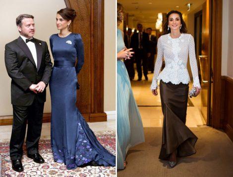Rania el Abdullah Kıyafet Modelleri