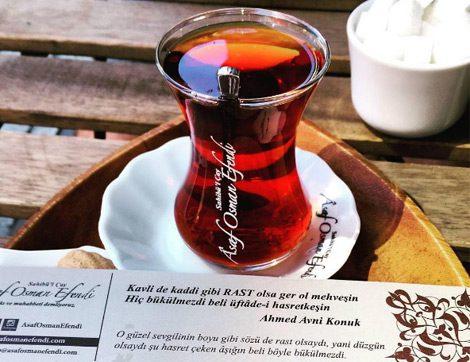 Sahibü'l Çay Asaf Osman Efendi'de Muhabbete Doyun