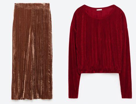 Zara Kadife Tesettür Giyim Modelleri