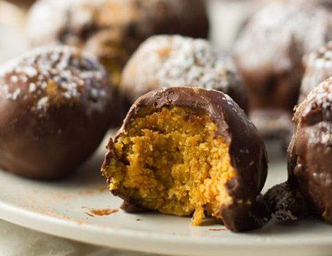 Balkabağından Çikolatalı Truffle Nasıl Yapılır?