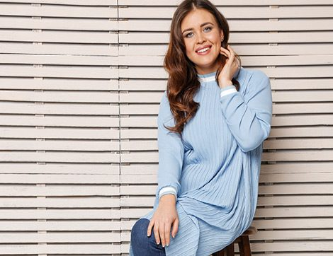 Büyük Bedende 2017'nin En Şık 15 Tesettür Tunik Modeli