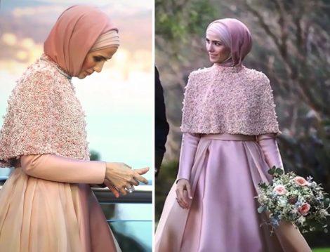 Sümeyye Erdoğan Nişan Elbisesi Modeli