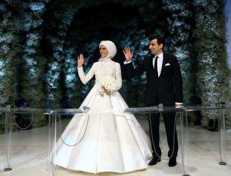 Sümeyye Erdoğan Gelinlik Modeli
