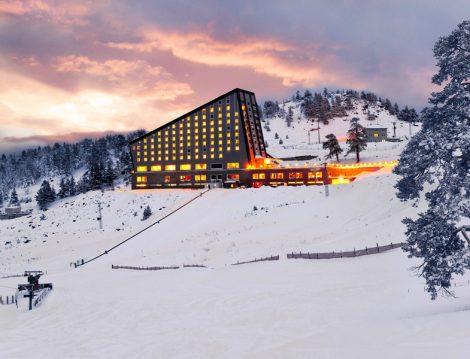 Türkiye'nin En Güzel Kayak Merkezi