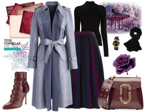 Tesettür Giyim Kombinleri 2017 Kış